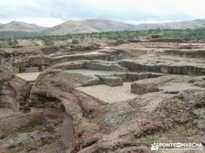 Yacimiento celtíbero de Tiermes y Hoz de Ligos;agencias viajes madrid viajes originales por españa